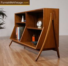 "Drexel Declaration Bookcase Designed by Kipp Stewart and Stewart MacDougall for Drexel. Part of their famed ""Declaration"" collection. - Via"