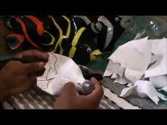 Peixe Borboleta com Garrafa Pet - PARTE 1 - Handcraft Brasil. - YouTube
