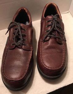 Men's Work Shoes Florsheim Safety Brown Leather FS2400 Steel Toe Sz 14 EEE  | eBay