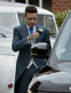 Liam at his sister Ruth's wedding.