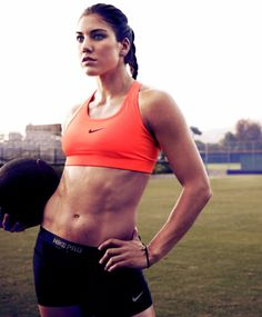 Hope Solo. Need I say more?