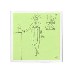 Morning Coffee Paper Napkins from The Sticky Note Goddess Available here: http://www.zazzle.com/morning_coffee_paper_napkins-256167174053012098?rf=238080002099367221&tc=20141113coffee $62.95 #coffee #humor