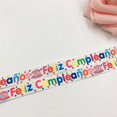 Feliz Cumpleaños Printed Grosgrain Happy Birthday Ribbon,... https://www.amazon.com/dp/B06X9XXZNZ/ref=cm_sw_r_pi_awdb_x_tqJWybSZ5ZCP8