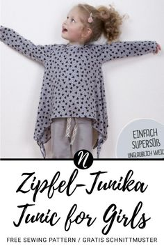 Great Pic Sewing Patterns tunic Strategies When you stitch clothing, you will be probably going to use a bathing room pattern. Sewing Kids Clothes, Sewing For Kids, Baby Sewing, Free Sewing, Toddler Fashion, Kids Fashion, Tunic Sewing Patterns, Girls Designer Clothes, Girls Tunics