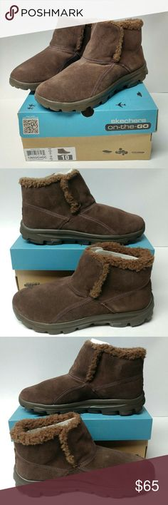 Skechers On The Go Chugga chocolate brown boots Brand new