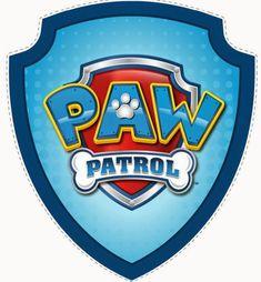 Free Printable image of Paw Patrol. Third Birthday, 4th Birthday Parties, Birthday Fun, Birthday Ideas, Escudo Paw Patrol, Imprimibles Paw Patrol, Paw Patrol Badge, Cumple Paw Patrol, Puppy Party