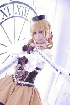 Mami Tomoe from Puella Magi Madoka Magica Cosplay || anime cosplay