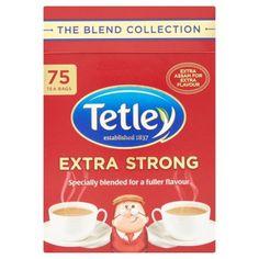 - イギリス雑貨と紅茶とハーブティーのお店 English Specialities テトリー 紅茶 エクストラストロング: 75 ティーバッグ