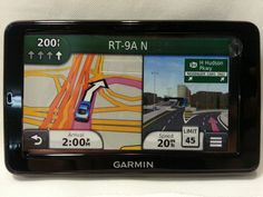GARMIN NUVI 2555LMT GPS W3D TRAFFIC010-01002-29 ***DEFECTIVE/PARTS ONLY*** -1 #Garmin