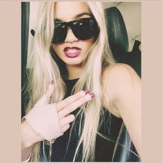 pia Mia. Blonde hair dark eye brows | Pia Mia | Pinterest | Pia ...