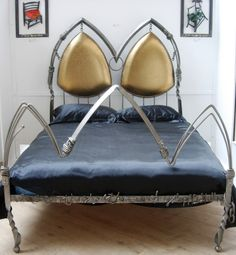 'Delilah in bronze bed' king size....available