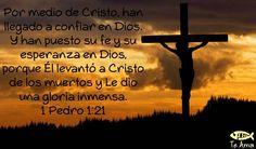 1 Pedro 1:21 facebook.com/jesusteamamgaministries