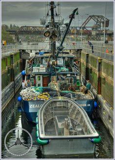 Ballard Locks Transit-  Photo Credit- Jeff Cook  Live~N~Loud Photography