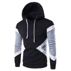 Hot New Fashion Brand Mens Hoodies Long Sleeve Pullover Hoodies Men's Clothes Hip Hop Men Hooded Sweatshirts M-2XL