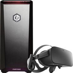 Oculus - Rift Virtual-Reality Headset & CyberPowerPC Gamer Ultra VR GUA2400BST Desktop Package