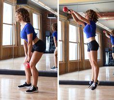 25-Minute Kettlebell Workout From KettleX..