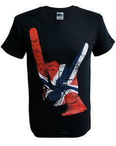Mens Horns Hand Norway T-Shirt (Black). Sizes Small - 5XL. Buy now from SCM Facebook store.  http://stainedclassmerchandise.aradium.com/7v9ok