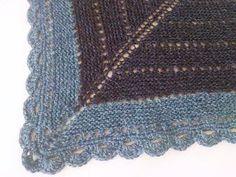 Bilderesultat for heklekant sjal