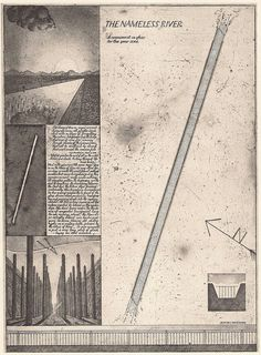 The Nameless River, Etching by Brodsky & Utkin