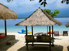 Gili Air, Indonesia I have been here! I miss this place soooooo much!