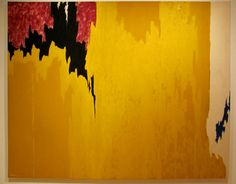Clyfford Still - Untitled, 1957. Oil on canvas (1904-1980) Gift of the artist. SFMOMA