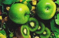 Яблоко и киви