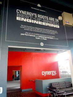 Cynergy Corporate Office Design Plan (Work in Progress) by Jessica D'Elena, via Behance