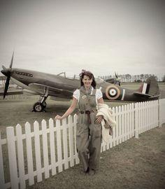 spitfire  a land girl