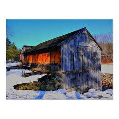 Taken In Derry New Hampshire, this Saw Mill was built in 1805.