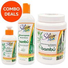 Silicon Mix Bambu Leave-in Shampoo Hair Treatment (Combo Deals) Silicon Mix Bambu, Healthy Hair, Shampoo, Perfume, Bolivia, Latina, Store, Image, Products