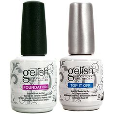 Gelish Dynamic Duo Soak Off Gel Nail Polish - Foundation Base and Top Sealer >>> Check out the image by visiting the link. (This is an affiliate link) #FootHandNailCare