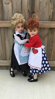 Little girls Halloween costumes Lucy & Ethel | Fall/Halloween ...