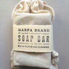 Cool rustic/earthy soap packaging