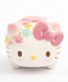 #HelloKitty piggy bank - perfect for early savers!