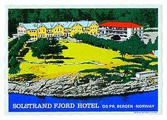 SOLSTRAND FJORD HOTEL - BERGEN Hotel label of Norway