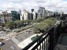 9 de Julio. La avenida mas ancha del mundo