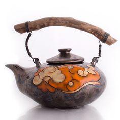 Orange Flower Teapot from Velmar