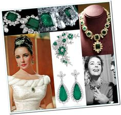 Elizabeth-Taylor-Emerald-Jewelry-Collection