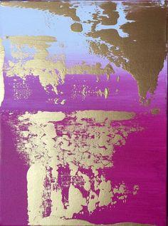 Abstract Painting 9x12 acrylic on canvas Artist- Jennifer Flannigan