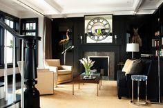Black attitude ... Osez la peinture noir sur vos murs - Marie's Home