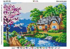Cross Stitch Charts, Cross Stitch Patterns, Cross Stitch Landscape, Stitch 2, C2c, Plastic Canvas Patterns, Xmas Decorations, Pixel Art, Hand Embroidery