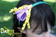 Disney Princess Inspired Ribbon Sculpture Patterns: Day 1- Rapunzel
