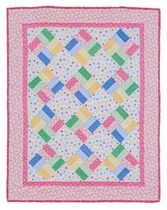 Additional Images of Fast & Fun Baby Quilts by Various Authors - ConnectingThreads.com