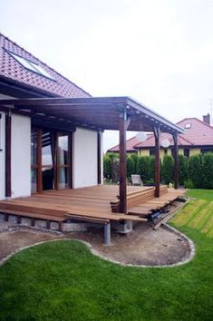 Patio Ideas - Summer season has actually lastly arrived. Right here are patio ideas to help you keep your outdoor entertaining room fresh all season long. Backyard Patio Designs, Pergola Designs, Deck Design, Pergola Ideas, Walkway Designs, Patio Ideas, Outdoor Balcony, Outdoor Pergola, Gazebo