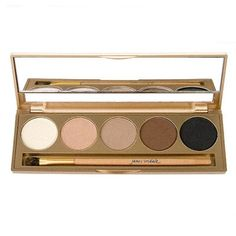 The ideal eyeshadow palette for daytime looks, containing five beautiful, subtle shades.