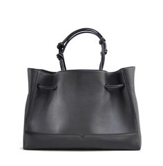 Check out the The Tote in Black  from von Holzhausen
