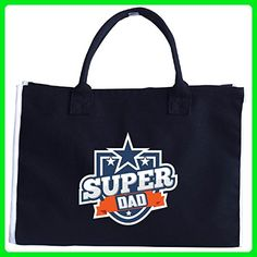 Super Dad A Beautiful Gift On Fathers Day - Tote Bag - Top handle bags (*Amazon Partner-Link)