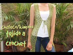 Kate's Crochet World Crochet Scarf Tutorial, Crochet Cardigan Pattern, Crochet Shawl, Free Crochet, Knit Crochet, Crochet Patterns, Knitting Videos, Crochet Videos, Crochet Capas