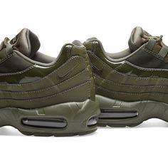 Nike Air Max 95 W Cargo Khaki | END. Air Max Camo, Air Max 95, Nike Air Max, Air Max Sneakers, Sneakers Nike, Men Fashion, Nike Tennis, Moda Masculina, Man Fashion