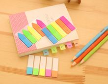 Nuevo Estilo Del Arco Iris Sticky Notes Memo Bookmark Cuaderno Diario Pegatinas de Decoración artículos de Papelería Escolar Oficina Regalo de Los Niños Juguetes(China (Mainland))